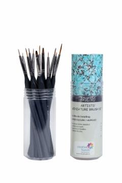 Picture of Brustro Artists Miniature Brush Set of 12